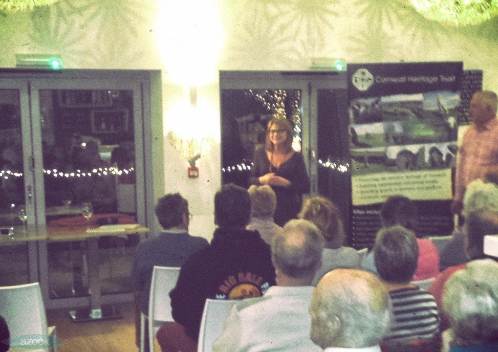 Lamorna Spry introduces the Crantock History Café